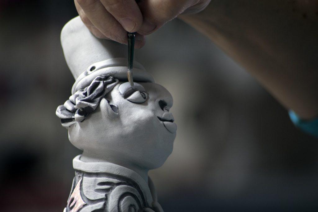 פסלים מחימר