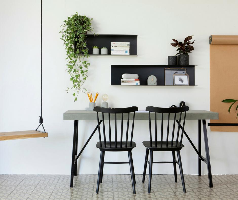 פריטים מחומרים טבעיים לעיצוב הבית