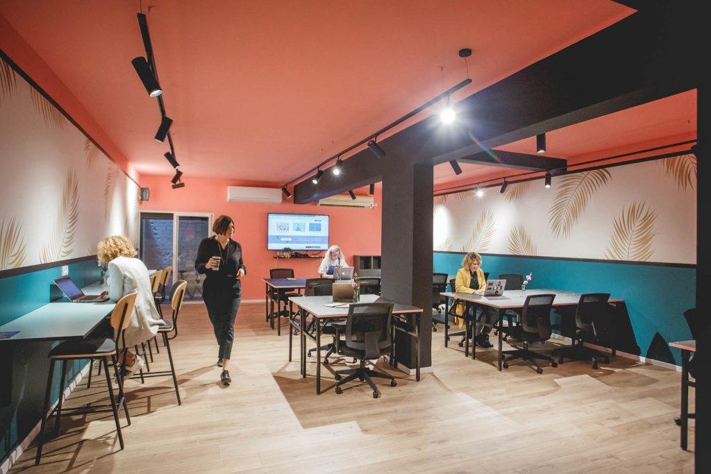 מקסימום את מרחב עבודה בתל אביב
