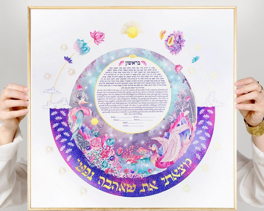 ענת מיכאליס היא אמנית כתובות חתונה