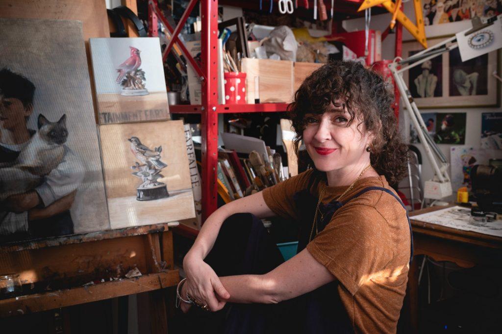 עפרה אייל, ציירת ומאיירת ,מורה ומרצה