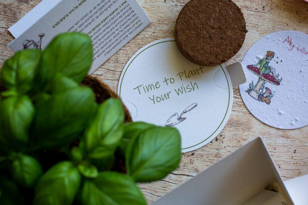 אֶסלי אלובי מוצרים מנייר זרעים