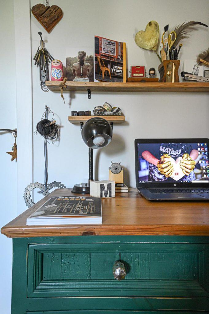 מאיה גל אמנית בתחום חידוש הרהיטים