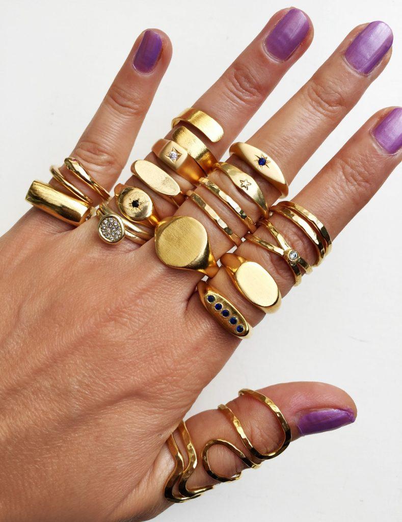הטבעות המעוצבות של איילה ויתקון