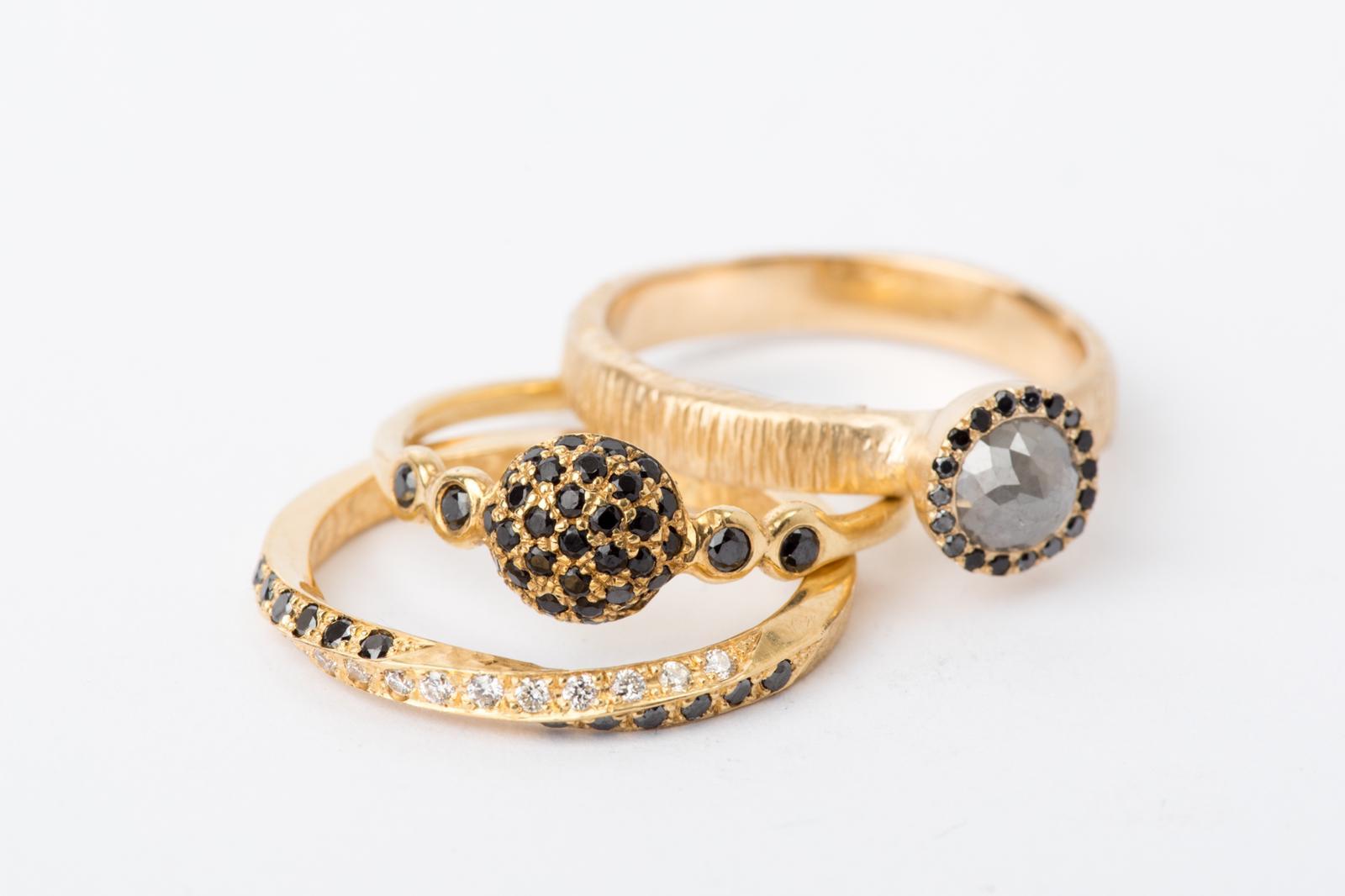 הטבעות המעוצבות של סטודיו הידרה