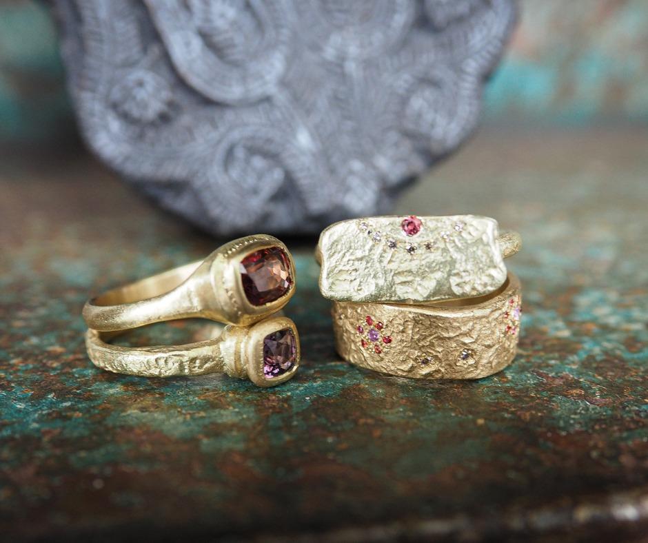 הטבעות המעוצבות של מודיתא