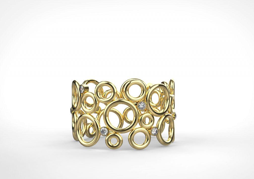 הטבעות המעוצבות של מני משומר