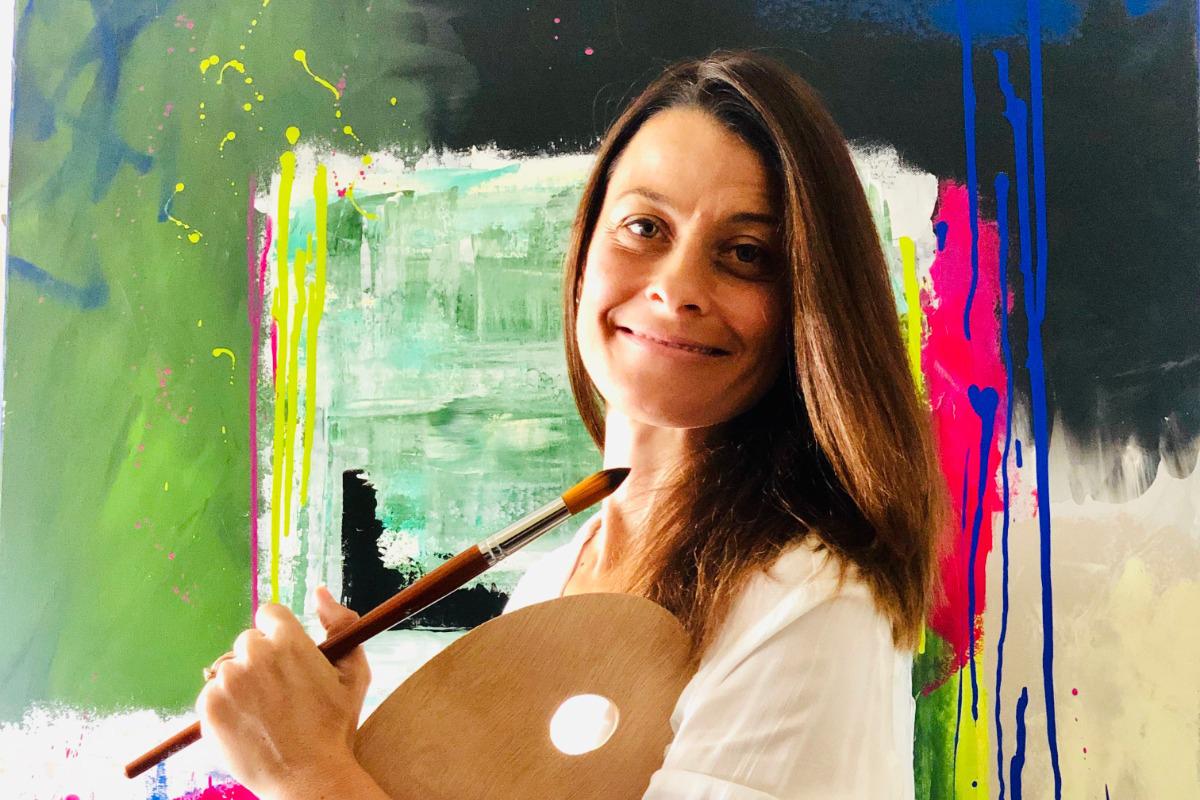 מיכל וינבוים אמנית העוסקת בציור