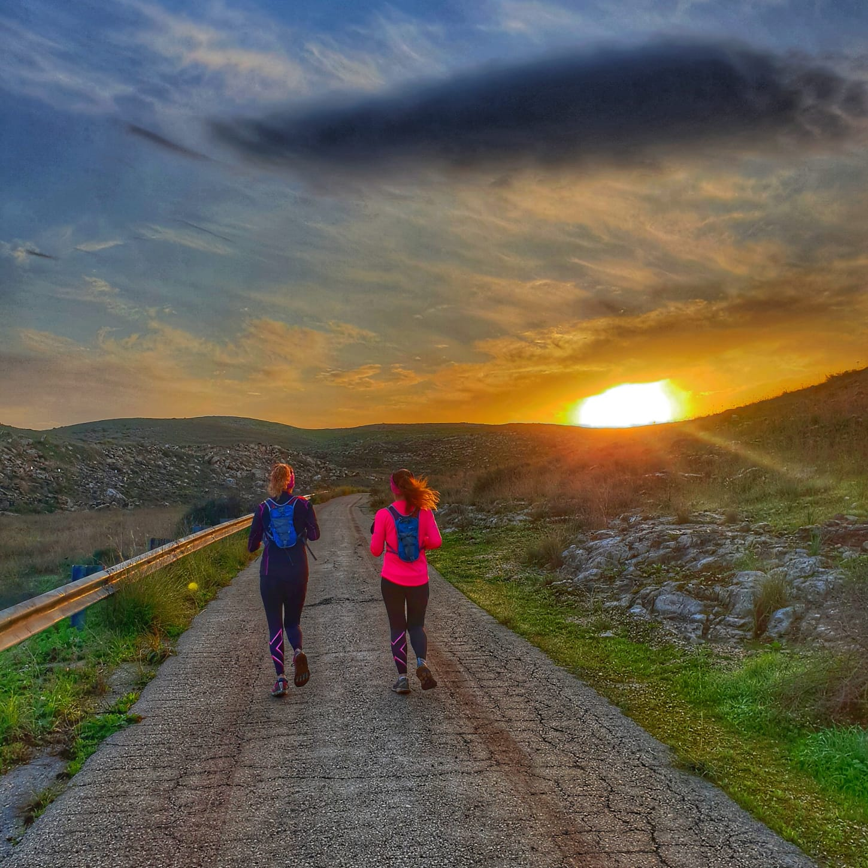 מסלולי ריצה בארץ