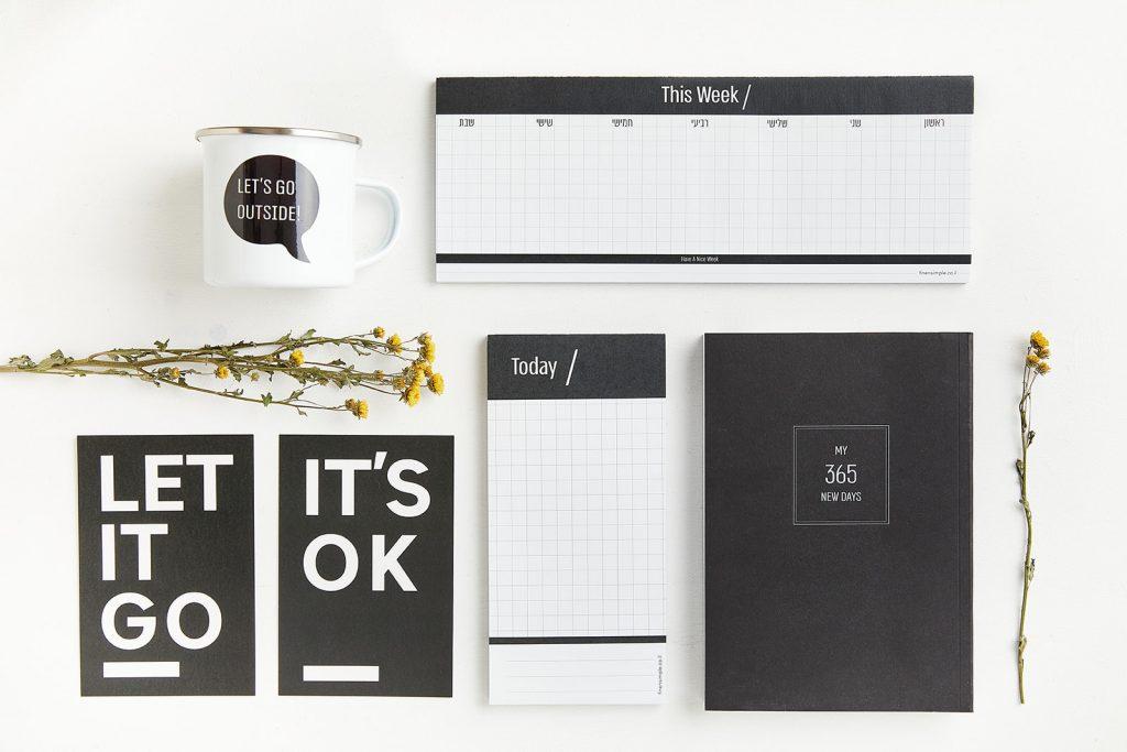 לוח התכנון השבועי של finensimple