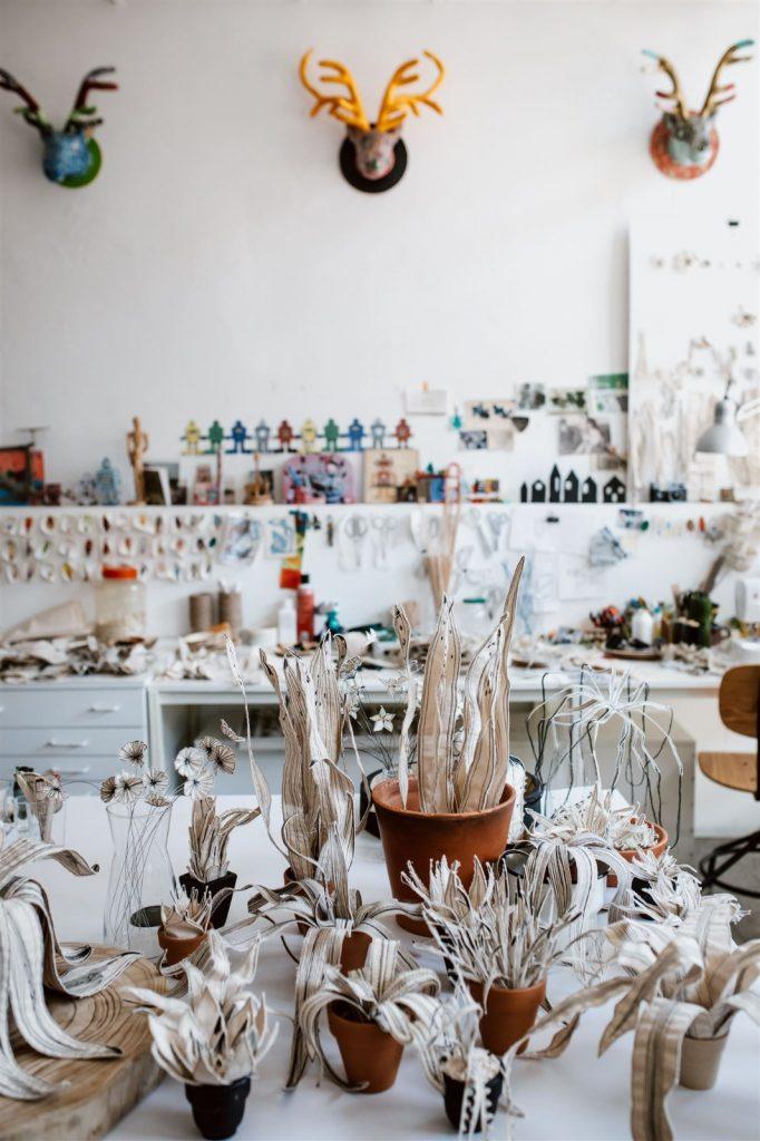 מירב ובר חדד אמנית טקסטיל ובעלת הסטודיו TODO-thinksew