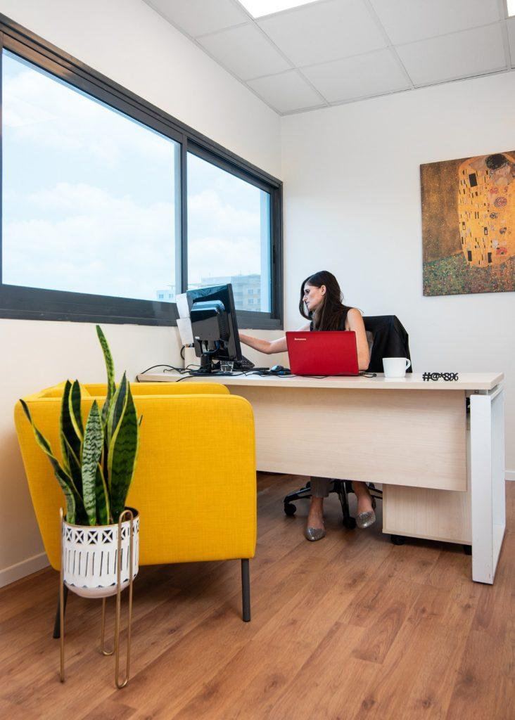 עיצוב משרדים חברת הייטק