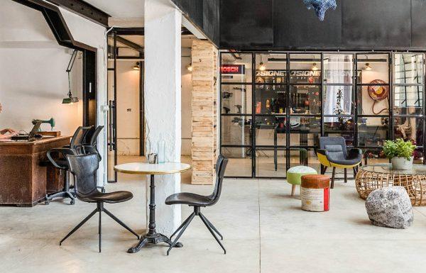 משרד מחוץ לבית / מרחב העבודה Workshop במרכז תל אביב