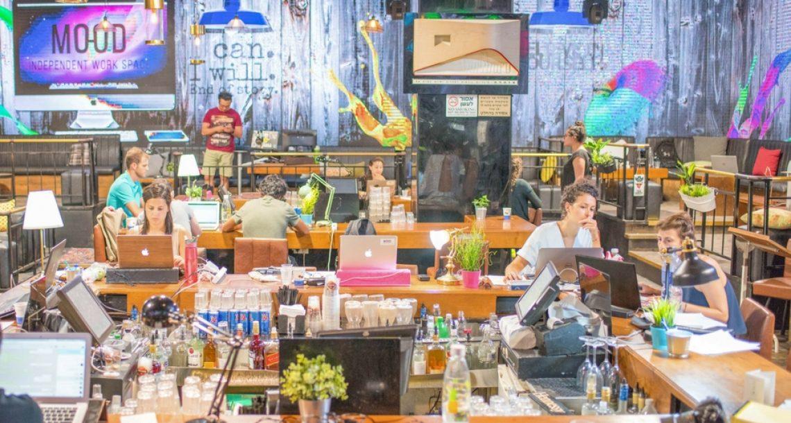 משרד מחוץ לבית / מרחב העבודה MOOD בלב תל אביב