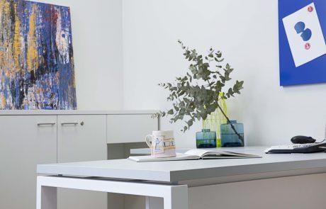 הטיפים / התאמת סביבת העבודה שלנו למרחב הביתי